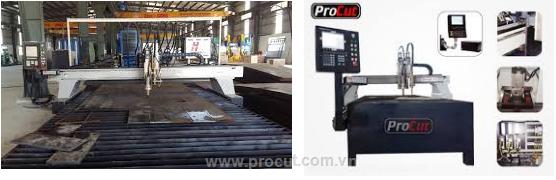 Máy cắt sắt CNC dạng bàn