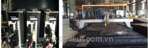 Máy cắt thép, Máy cắt thép tấm CNC Plasma