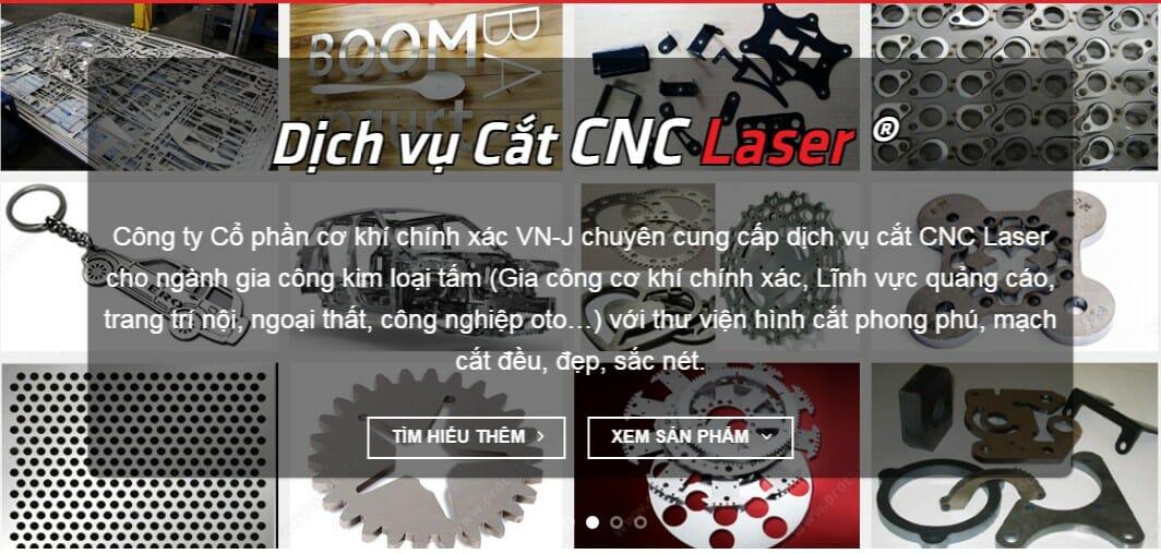 Dịch vụ cắt CNC Laser