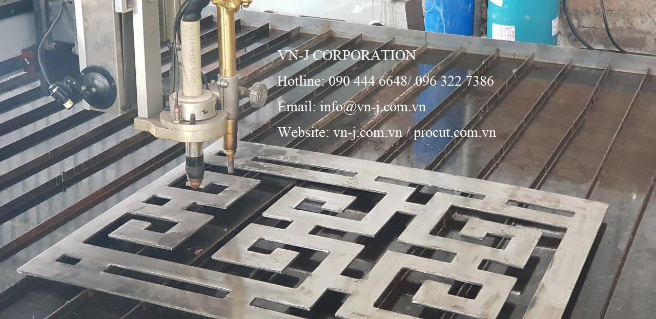 Sản phẩm của máy cắt Plasma CNC Procut