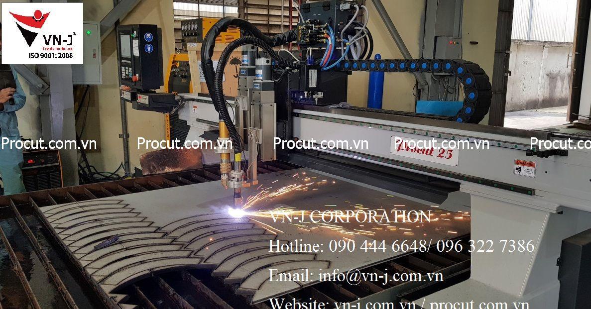 Máy cắt Plasma CNC chuyên cắt inox tấm